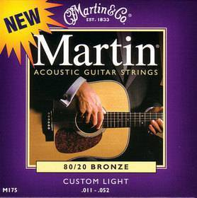 Martin & Co. M175 - Muta per chitarra acustica custom light: