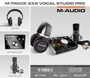 M-AUDIO M TRACK 2X2 VOCAL STUDIO PRO