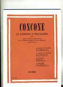 CONCONE 40 LEZIONI OP 17