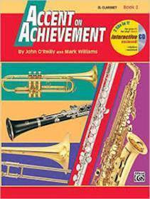 ACCENT ON ACHIEVEMENT CLARINET BOOK 2 CON CD