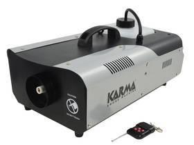 KARMA DJ 1500 DMX MACCHINA FUMO