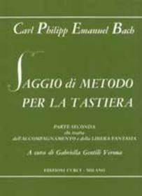 C.P.E.BACH SAGGIO DI METODO PER LA TASTIERA 2