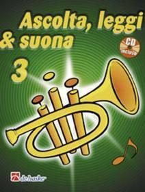 ASCOLTA LEGGI & SUONA 3 TROMBA  CON CD