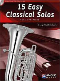 15 EASY CLASSICAL SOLOS TUBA AND PIANO CD INCLUDED  AMP306-400