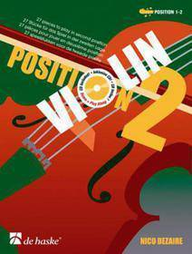 NICO DEZAIRE - VIOLIN POSITION 2 + CD - POSITION 1&2