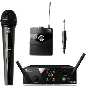 AKG WMS 40 PRO MINI 2 DUAL VOCAL + INSTRUMENT SET