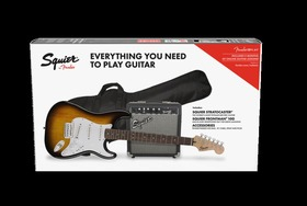 SQUIER STRATOCASTER PACK