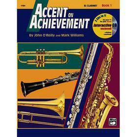 ACCENT ON ACHIEVEMENT CLARINET BOOK 1 CON CD