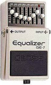 BOSS GE 7 EQUALIZZATORE