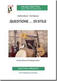 BARONI PADUANO QUESTIONE..DI STILE