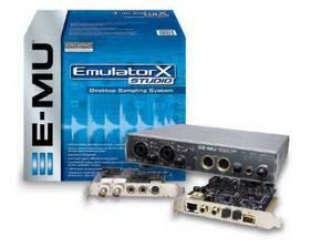 EMU EMULATOR  X  STUDIO ( PACCHETTO HW + SW )