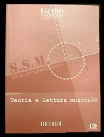 COLLANA LIZARD TEORIA E LETTURA MUSICALE