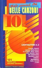 CANZONIERE 10 CANTAUTORI N° 2 ML1221