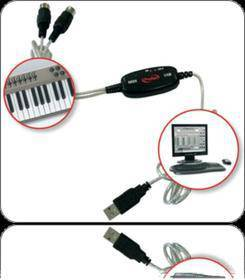 PRODIPE MIDI USB 1i1o cavo midi-usb