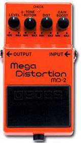 BOSS MD 2 MEGA DISTORSION