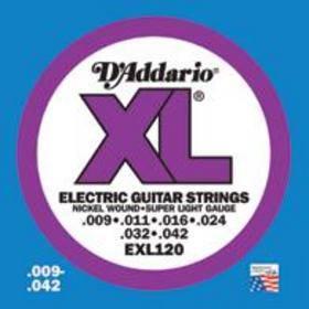 DADDARIO EXL 120