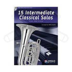 15 INTERMEDIATE CLASSICAL SOLOS TUBA AND PIANO CD INCLUDED  AMP389-400