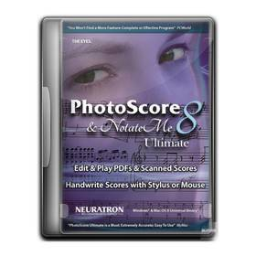 SIBELIUS PHOTOSCORE ULTIMATE 8