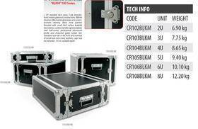 PROEL FLIGHT CASE CR 105 BLKM 5U