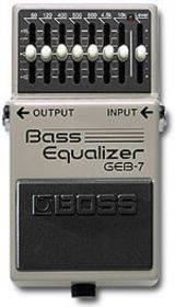 BOSS GEB 7 BASSO EQUALIZZATORE