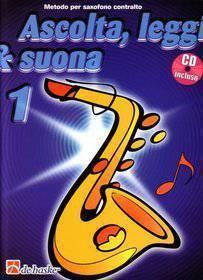 ASCOLTA LEGGI &  SUONA 1 SAX ALTO CON CD