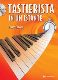TASTIERISTA IN UN ISTANTE CON CD MB426