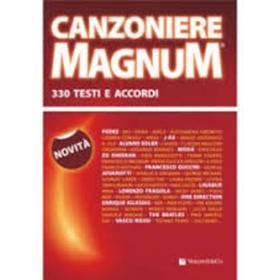 CANZONIERE MAGNUM 330 TESTI E ACCORDI VOLONTE' MB600