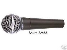 SHURE SM58 MICROFONO DINAMICO CARDIOIDE