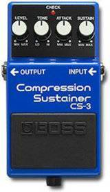 BOSS CS 3 COMPRESSORE-SUSTAINER