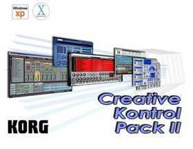 KORG CREATIVE KONTROL PACK SOFTWARE