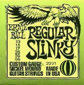 Ernie Ball 2221 Nickel Wound Regular Slinky 10-46