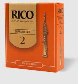RICO REEDS ARANCIO SAX SOPRANO N.2